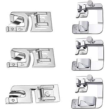 32Pcs Kit de pies prensatelas máquina de coser accesorios pie ...