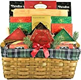 Gift Basket Village Deluxe Gourmet Gift Basket with Hardwood Cutting Board, Meats, Cheeses, Crackers...