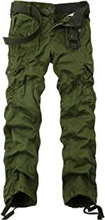 Men's Multi Pockets Military Cargo Pant