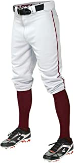PRO+ Knicker Pant Youth Piped White/Maroon S