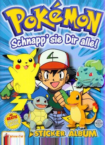 Pokémon Schnapp' sie dir alle! Sticker Album Serie 2.