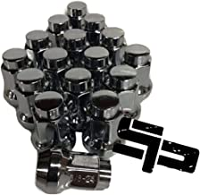 16 Pack Tapered Lug Nuts Chrome Polaris Ranger Rzr 900xp 800 570 3/8