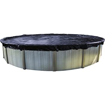 In The Swim 24 Foot Round Pool Value Winter Cover for Above Ground Pools