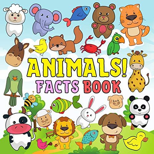 Animals! Facts Book: Fun Activity & Guessing Game Alphabet From A To Z For Kids Toddlers Preschool Ages 2-5 Year Olds Boys And Girls (English Edition)