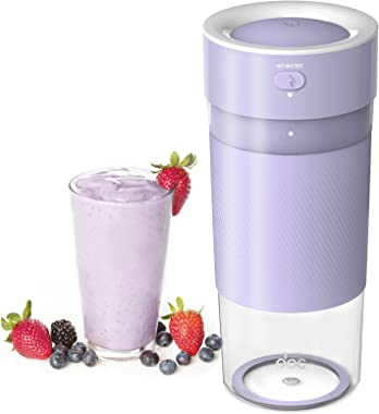 Lamar Portable Blender, Personal Size Blender for Smoothies, Juice and Shakes, Mini Blender with Powerful Motor 2000mAh Recha