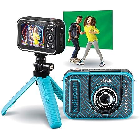 VTech - Kidizoom Video Studio HD, Camera HD Multifonction, Effets Spéciaux, Trucages – Version FR