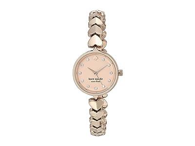 Kate Spade New York Hollis Spade Bracelet Watch KSW1589 (Rose Gold) Watches