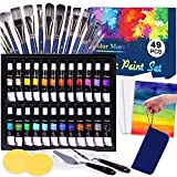√ BEGINNER TO PROFESSIONALS: With this 49 Piece fun and educational Art Creativity set you can begin drawing and painting as soon as you open the box. Comes complete with all the necessary tools for a beginning artist all the way to a veteran. It's n...