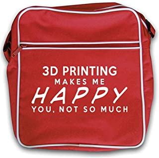 3D Printing Makes Me Happy, You Not So Much - Retro Flight Bag