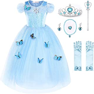 Flower Girls Dress Princess Costume Butterfly Girl