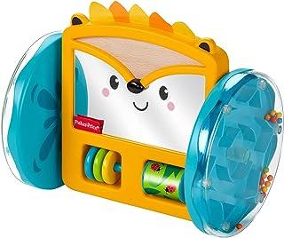 Fisher-Price GJW14 - rollende egelspiegel, speelgoed om in de buikligging te spelen en te kruipen, vanaf 3 maanden