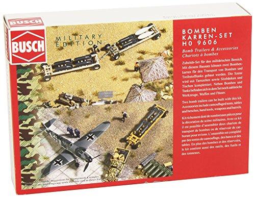 Busch Environnement - BUE9606 - Modélisme - Trucks de Transport de Bombes