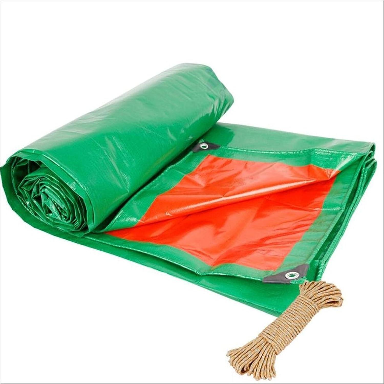 Regenschutz Wasserdicht Plane, Plane Doppelseitige feuchtigkeitsdichten Fracht Staub Tuch, Tuch, Tuch, hochtemperaturBesteändige Anti-Aging, grün  Orange (Farbe   A, größe   2 x 4m) B07FY2L21Y  eine breite Palette von Produkten a5133f