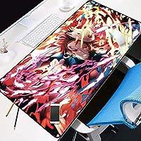 ゲーミングマウスマットラージマウスマット特大アニメマウスパッド、精度とスピード厚さ3mmの塩基とゲーミングマウスパッド (Color : B)