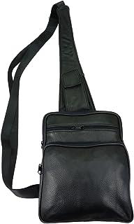 d2537ade84 Chaussmaro Sac holster en cuir de vachette noir