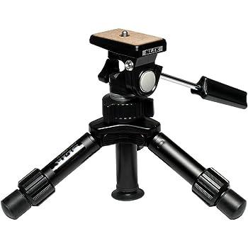 SLIK Mini-Pro V Tripod with 2-Way Pan/Tilt Head - Black