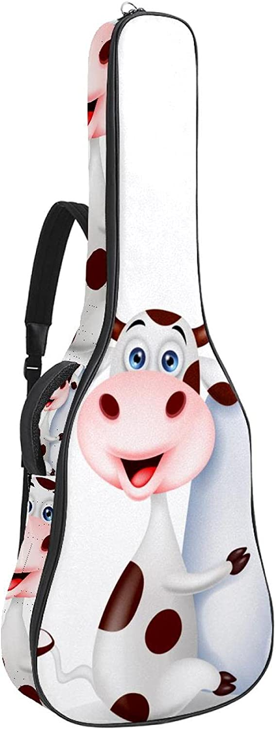 Acoustic Guitar Ranking TOP13 Case For Teens Cute Cartoon Foam OFFicial store Cow Soft Padded