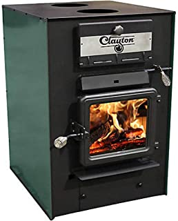 CLAYTON US Stove Wood Furnace, 2,750 sf with Dual 550 CFM Blowers CF700M