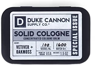 Duke Cannon Solid Cologne Special Issue - Vetiver + Oakmoss