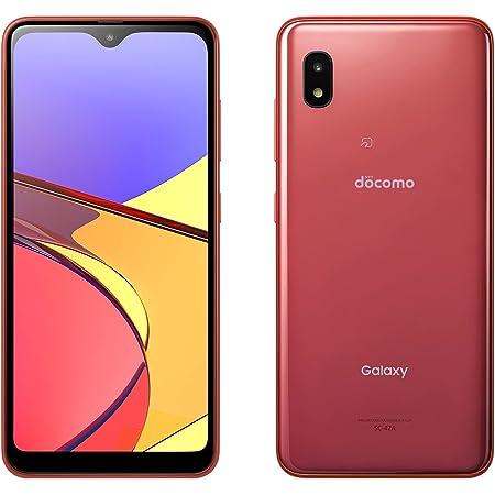SIMフリー docomo Galaxy A21 SC-42A レッド Red スマートフォン本体