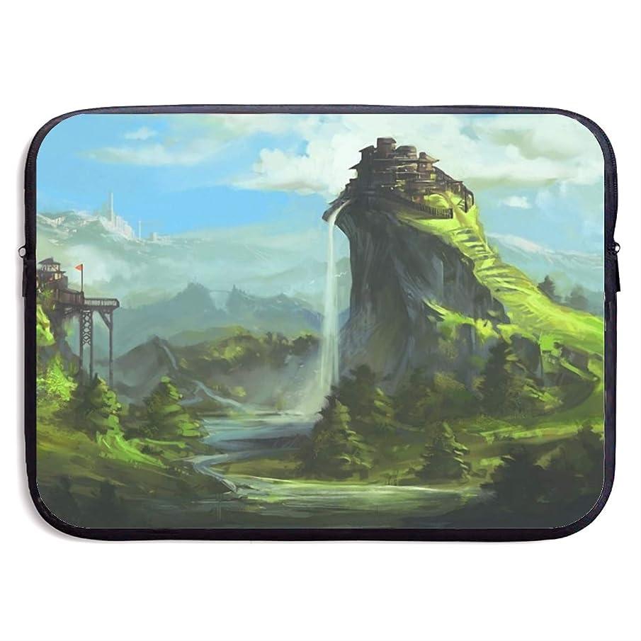Computer Bag Laptop Case Slim Sleeve Fantasy Landscape Waterproof 13-15In IPad Macbook Surface Book Notebook Ultrabook