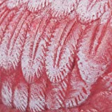 Relaxdays Dekofigur Flamingo, wetterfest, frostfest, Gusseisen, Innen und Außen, Gartendeko, HxBxT 56 x 35 x 18 cm, pink - 7