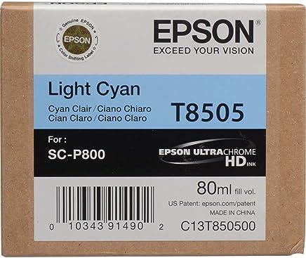 Epson T8505-C13T850500 Açık Mavi Orjinal Kartuş