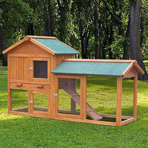 Hasenstall Kaninchenstall Kaninchen-Käfig Hasen-Käfig Kleintier-Stall Freilauf Kleintierkäfig