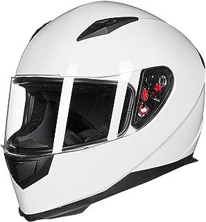 ILM Full Face Motorcycle Street Bike Helmet with...