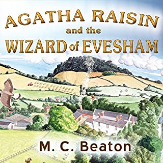 Agatha Raisin and the Wizard of Evesham cover art