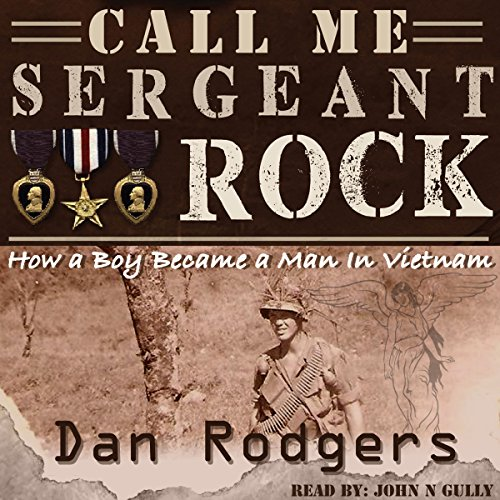 Call Me Sergeant Rock audiobook cover art