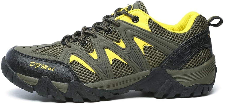 Congshua Wanderschuhe Herren Damen Outdoor Stiefel Stiefel Stiefel Trekking Turnschuhe Atmungsaktive Schuhe, lichtgrün, 40  138f85