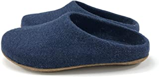 Kyrgies All Natural Low Back Wool Slippers with Molded Soles