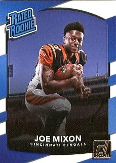 2017 Donruss #335 Joe Mixon Cincinnati Bengals Rated Rookie Football Card
