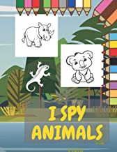 I Spy Animals: For Kids Perfect Gift for Your Children