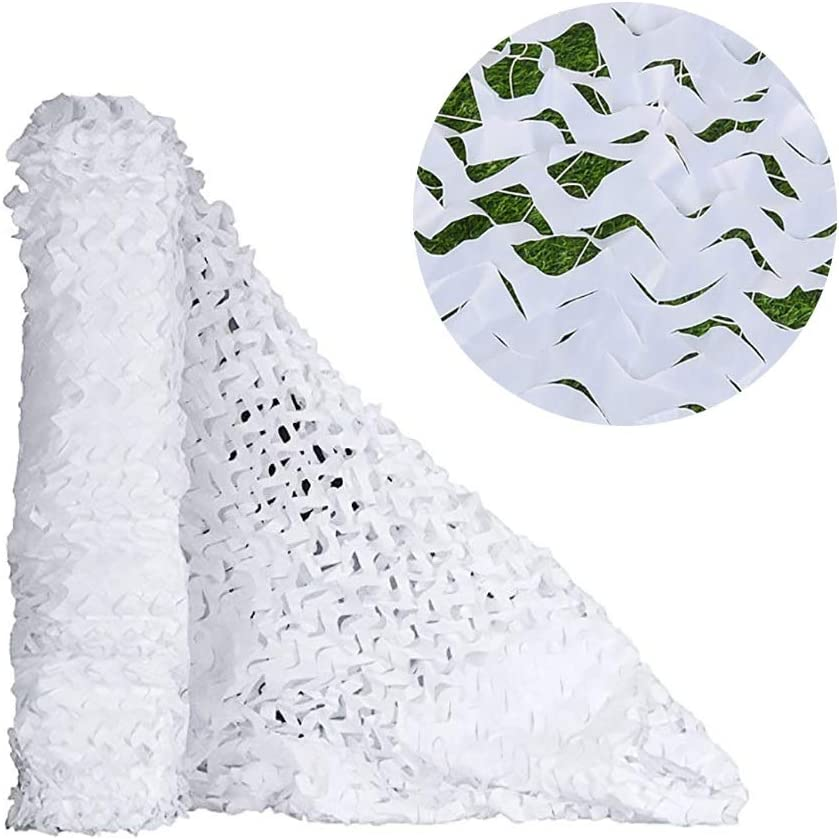 Camo Netting Max 89% OFF unisex with Mesh Backing 33FT White 10X10M X Snowla