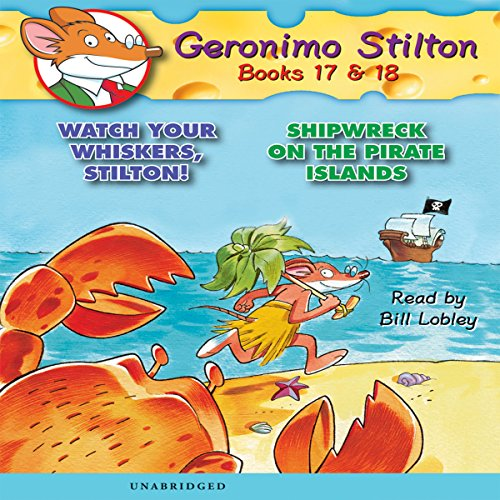 Geronimo Stilton #17 audiobook cover art