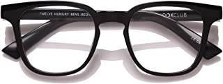 The Book Club Twelve Hungry Bens Blue Light Filter Reading Glasses (+1.5 Strength)
