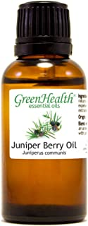 Juniper Berry Essential Oil 100% Pure 1oz (30ml) by Greenals