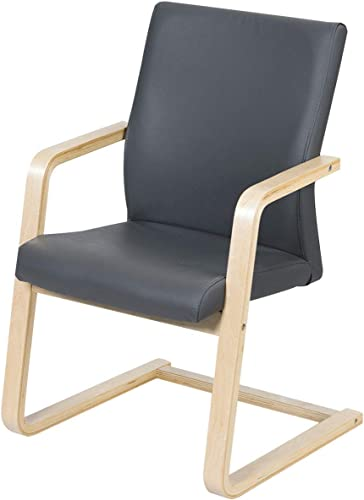 high quality Giantex Accent Arm Chair with PU Leather Cushioned Seat and U-Shaped Wooden Leg for Living Room, outlet sale Dining Room, Home Office Furniture, sale Leisure Dining Chair (1) online sale