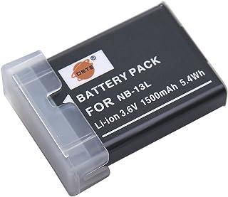 DSTE Repuesto Batería para Canon NB-13L PowerShot G5X G7X G9X G7X Mark II SX620 HS SX720 HS SX730 HS