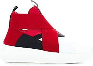 FESSURA Women's HIT009RED Red Polyester Sneakers