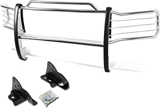 For Ford F250-F550 Superduty Front Bumper Protector Brush Grille Guard (Chrome)