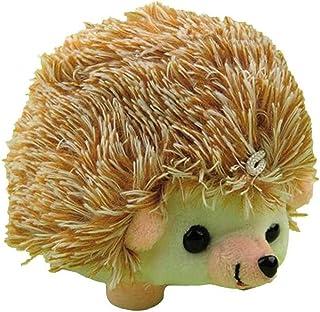 PiniceCore Hedgehog Forma di Cucitura Puntaspilli con Tessuto di Cotone Molle Puntaspilli Holder Patchwork Bagagli