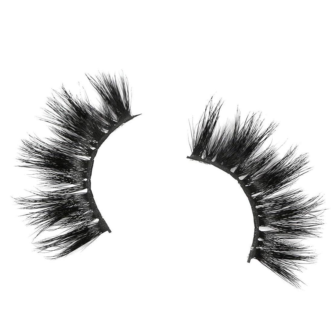 性的乱闘反対につけまつげ 人気 つけまつげ ナチュラル LLuche 3Dミンクつけまつ毛ア グラマラスボリュームアイラッシュ ふんわりロングまつ毛 ふんわりロングまつ毛 一対の25mmミンクまつげつけまつげ25mmの3Dミンクの長いまつげが付いている劇的な構造(黒,つけまつげ 装着簡単 綺麗 極薄)