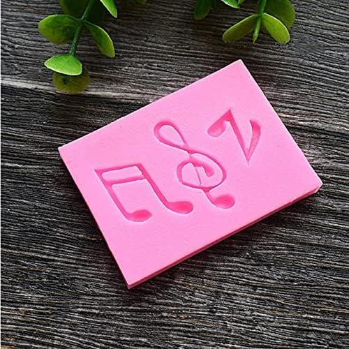 Fetcus Extrusores de arcilla – partitura de música, nota musical, guitarra molde de silicona DIY pastel chocolate decoración herramienta arcilla caramelo chicle molde cocina Gadgets – (Color: D151) : Amazon.com.mx: Hogar y Cocina