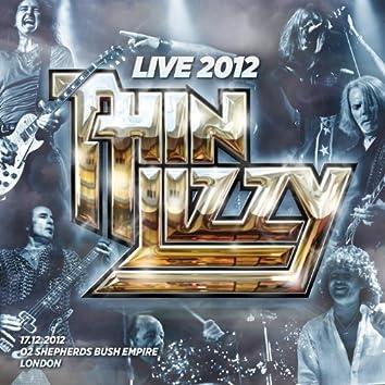 Live 2012 - O2 Shepherds Bush Empire