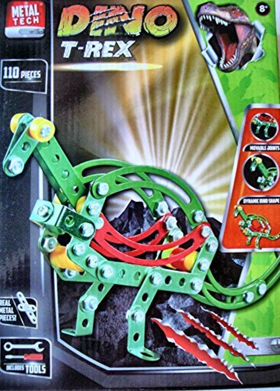 Metaltech DINO T-Rex 110 piece Metal Construction Toy