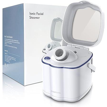 KINGDOM CARES Facial Steamer,Nano Ionic Face Steamer for Facial Deep Cleaning,Home Humidifier Sauna SPA Warm Mist-Skin Rejuvenation-Moisturizing-Unclogs Pores