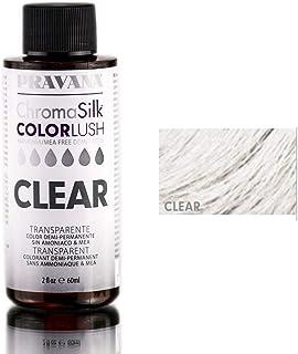 Pravana ChromaSilk ColorLushカラーブースト - クリア/ 2オンス